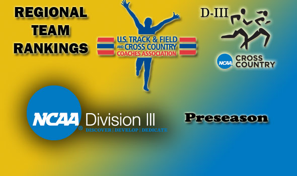 DIII Regional Cross Country Preseason Rankings Complete for 2012 Season