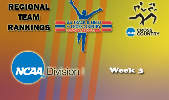 DI Regional Cross Country Rankings: 2012 Week #3