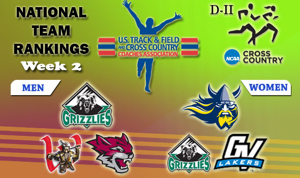 DII National Cross Country Rankings: 2012 Week #2