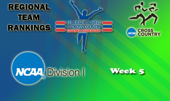 DI Regional Cross Country Rankings: 2012 Week #5