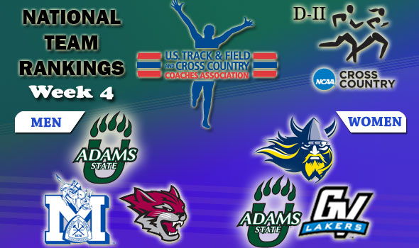 DII National Cross Country Rankings: 2012 Week #4