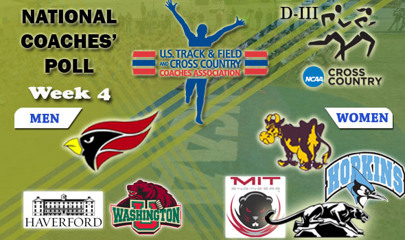 DIII National Cross Country Coaches' Poll: 2012 Week #4
