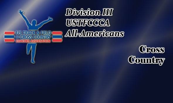 All-America Honors for 2012 Division III Cross Country Season Released