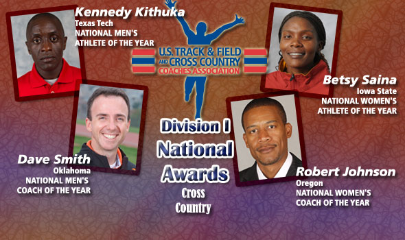 DI National Award Winners in Cross Country Feature NCAA Champions
