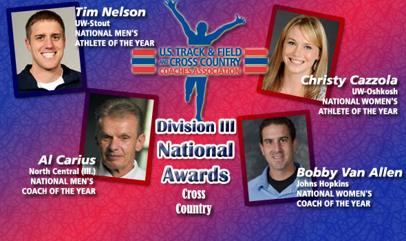 National Award Winners Named for DIII Cross Country