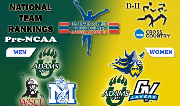 DII National Cross Country Rankings: 2012 Pre-NCAA Championships