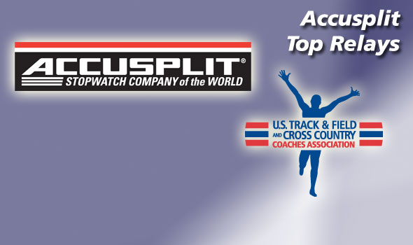 Nation's Top Relays of 2012 to Be Honored Tuesday by Accusplit