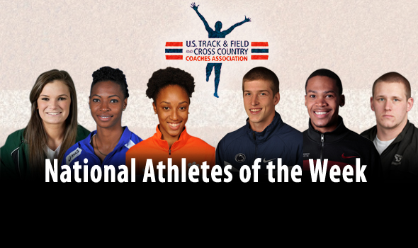 Record-Breaking Rollins Headlines First USTFCCCA National Athlete of the Week Awards