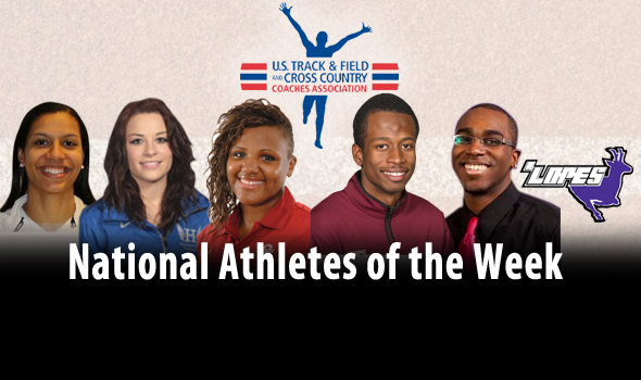 Lendore and Brooks Highlight USTFCCCA National Athlete of the Week Awards