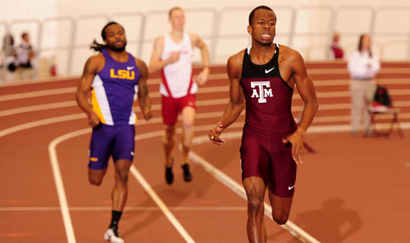 Texas A&M Triangular Lives Up to 'Meet of the Week' Status