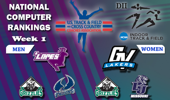 Grand Canyon, Grand Valley State Remain Atop DII Rankings