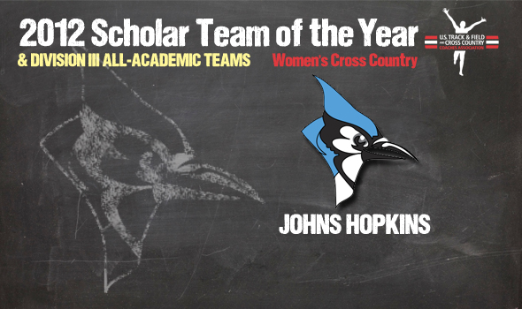 Division III Champ Johns Hopkins Named DIII Cross Country Women's Scholar Team of the Year