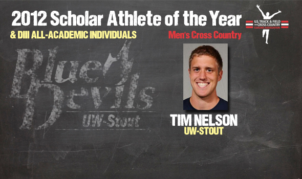 NCAA Champ Nelson Named 2012 Division III Cross Country Men's Scholar Athlete of the Year