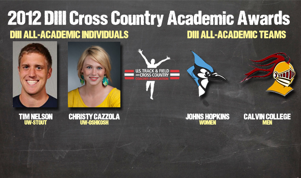 2012 DIII Cross Country All-Academic Awards Announced