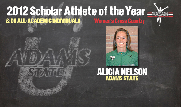 NCAA Champ Nelson Named 2012 Division II Cross Country Women's Scholar Athlete of the Year