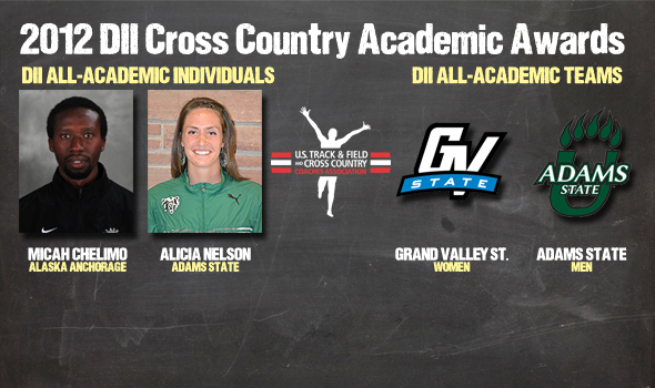 2012 DII Cross Country All-Academic Awards Announced