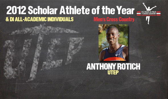 Rotich Named Division I Cross Country Men's Scholar Athlete of the Year