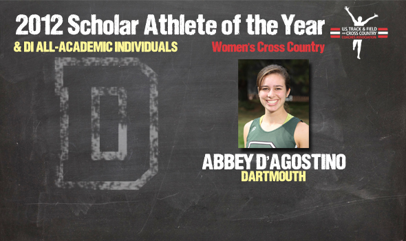 D'Agostino Named DI Cross Country Women's Scholar Athlete of the Year