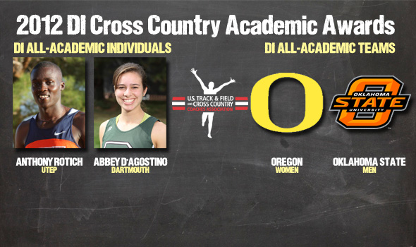2012 DI Cross Country All-Academic Awards Announced
