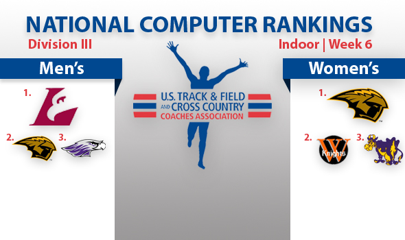 UW-La Crosse Men and UW-Oshkosh Women Top DIII Rankings