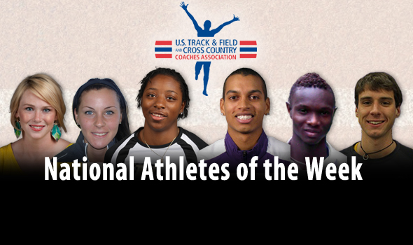 Record-Setting Taiwo and Cazzola Headline National Athlete of the Week