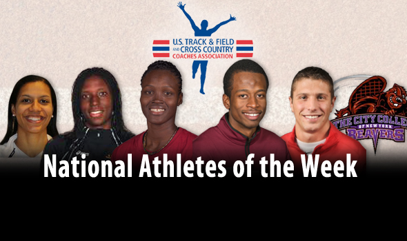 Record-Breakers and World-Leaders Among National Athlete of the Week Winners