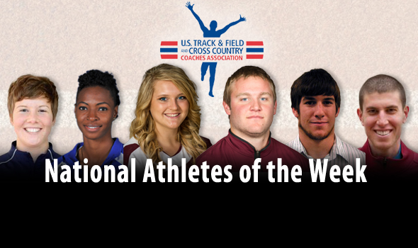 First Outdoor National Athletes of the Week Announced
