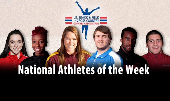 Evans' DIII High Jump Record Highlights National Athlete of the Week Awards