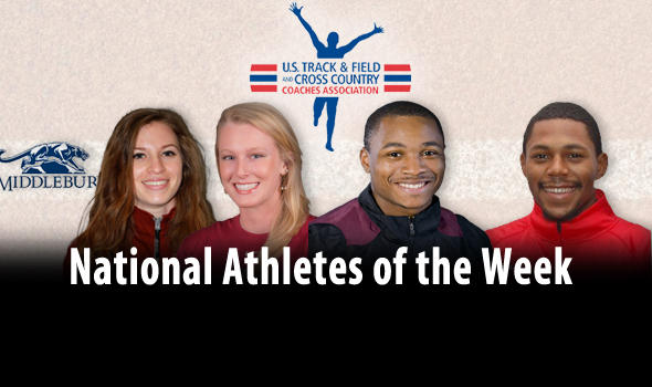 U.S. Indoor Champ, DIII Record Holders Among National Athletes of the Week