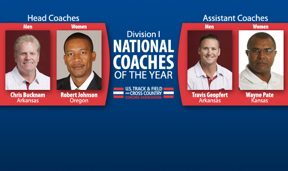 National Coaches of the Year for DI Indoor Season Announced