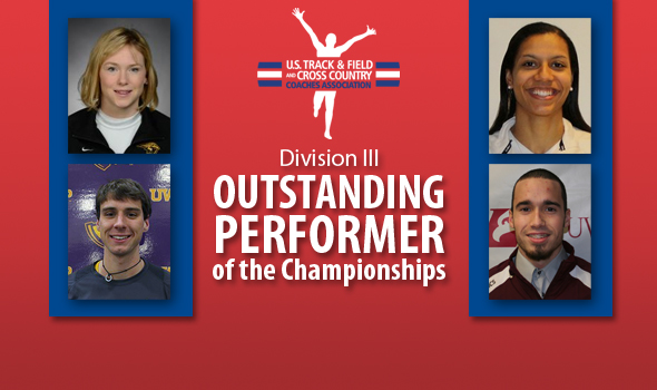 Outstanding Performers of the Meet for DIII Indoor Championships Announced
