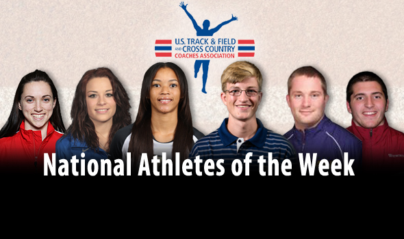 All-Time Performances and Fantastic Finishes Highlight National Athlete of the Week Awards