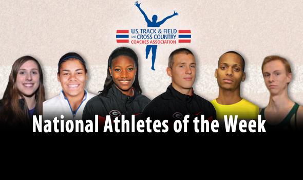 Georgia Sweeps DI National Athlete of the Week Awards