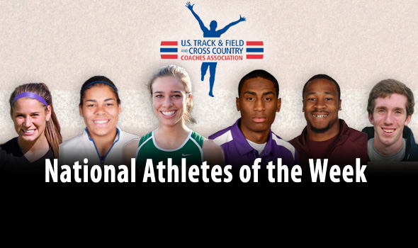 Kynard, D'Agostino Claim National Athlete of the Week Awards for Mt. SAC Performances