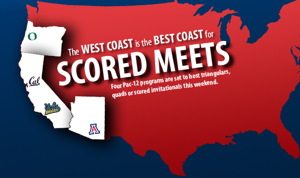 Scored Meets Galore in the Pac-12 This Weekend