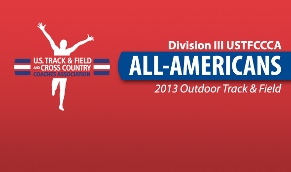Outdoor USTFCCCA DIII All-America Honorees Announced