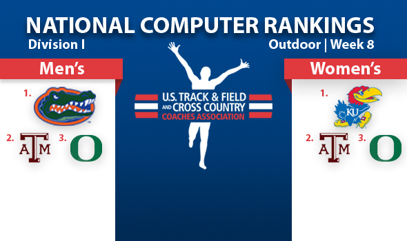 Florida Men, Kansas Women Enter DI Prelims as Favorites in Computer Rankings