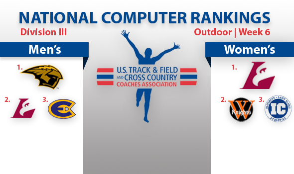 UW-Oshkosh Men, UW-La Crosse Women Overtake DIII Rankings