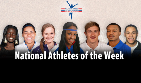 Conference Championships Produce Strong National Athletes of the Week