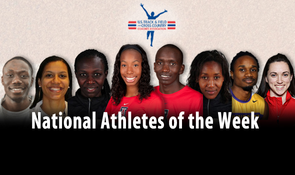 Historic Championship Performances Highlight National Athlete of the Week Awards