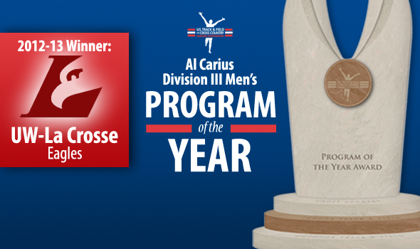 UW-La Crosse Men Win Al Carius DIII Program of the Year