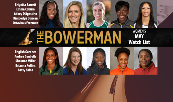 Coburn, Saina, Gardner & Miller Rejoin Bowerman Watch List