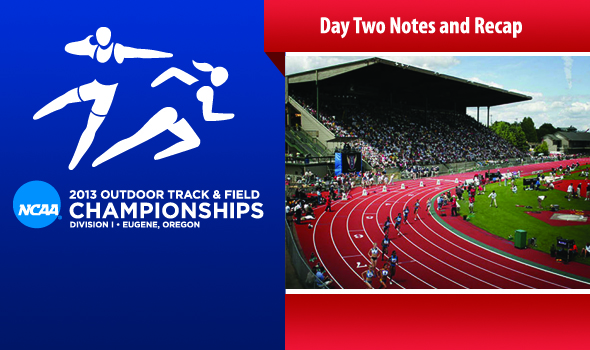 NCAA D1 Championships – Day Two Notes