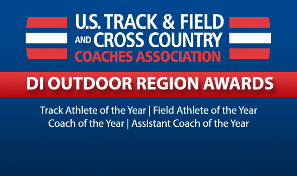 DI Outdoor Track & Field USTFCCCA Region Award Winners Announced