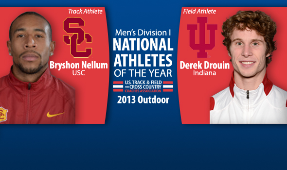 Nellum & Drouin Earn National Men's Athlete of the Year Awards