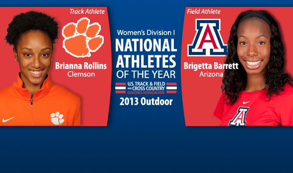 Dominant Rollins & Barrett Named National Women's Athletes of the Year