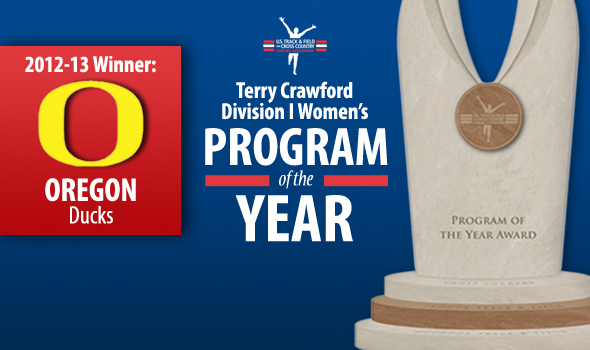 Oregon Women Claim Fifth-Straight Terry Crawford Program of the Year Honors