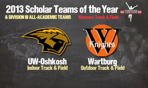 DIII Women's Champs UW-Oshkosh, Wartburg Named Scholar Teams of the Year Among All-Academic Teams