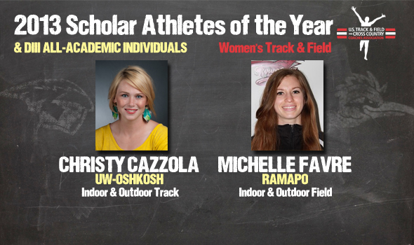 DIII Women's Track & Field Scholar Athletes of the Year, All-Academic Individuals Announced
