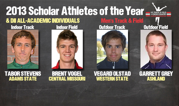 DII Men's Track & Field Scholar Athletes of the Year, All-Academic Individuals Announced